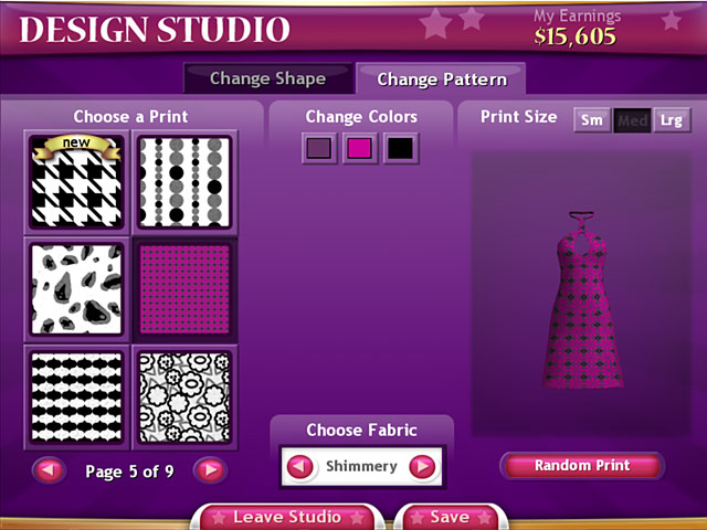 Clothing Designer Games To view any screenshot of game