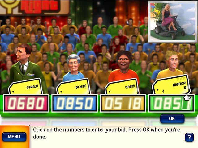 price is right computer game free