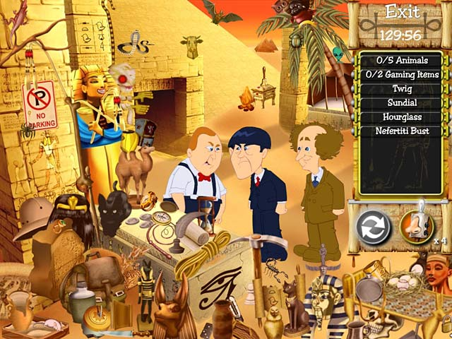 The Three Stooges Games Free Online