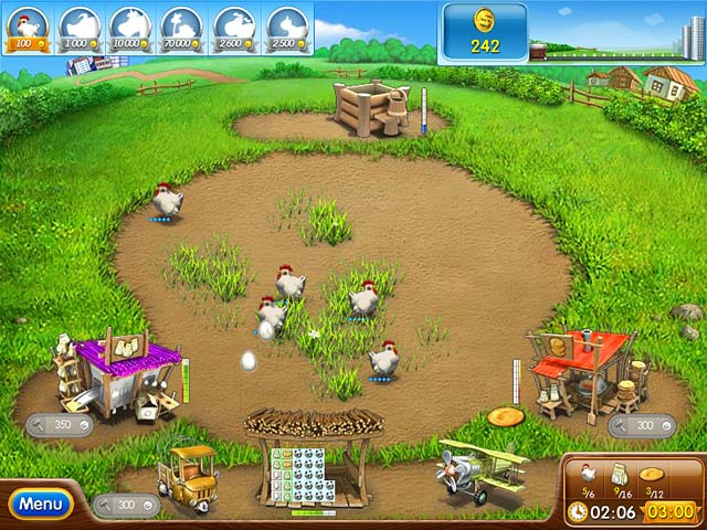 Farm Frenzy 2 game. Download and play for free! Full