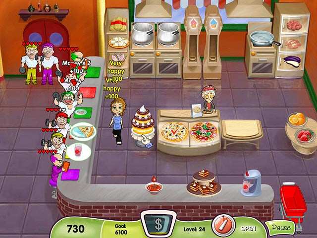 To view any screenshot of game Cooking Dash click any image upper to