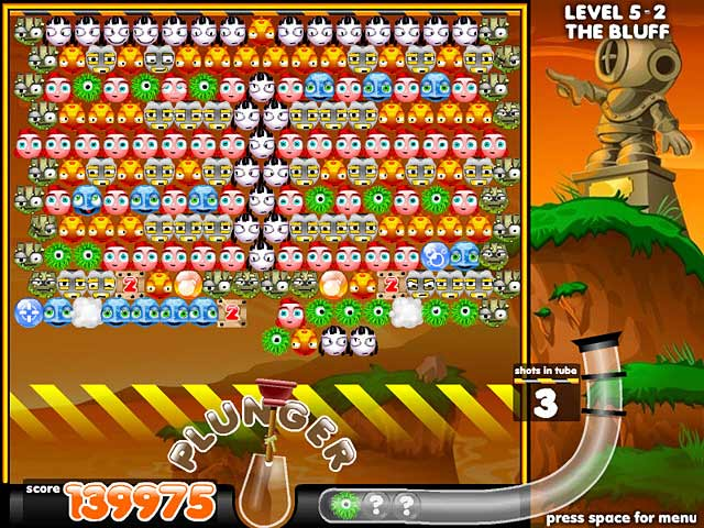 play free online game puzzle bubble