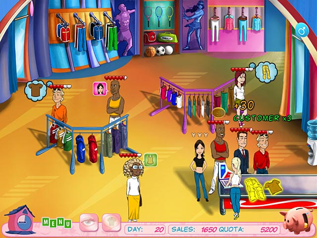 Fashion Boutique. Download and play at PC Games 4 Free!